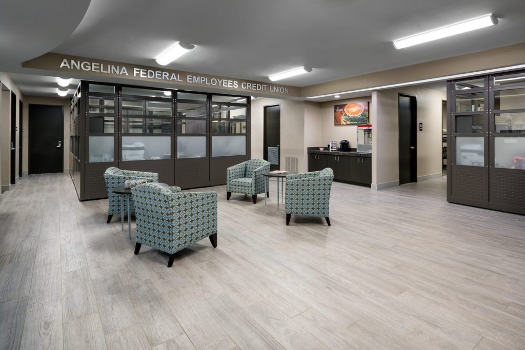 Angelina Federal Employees Credit Union Design + Build