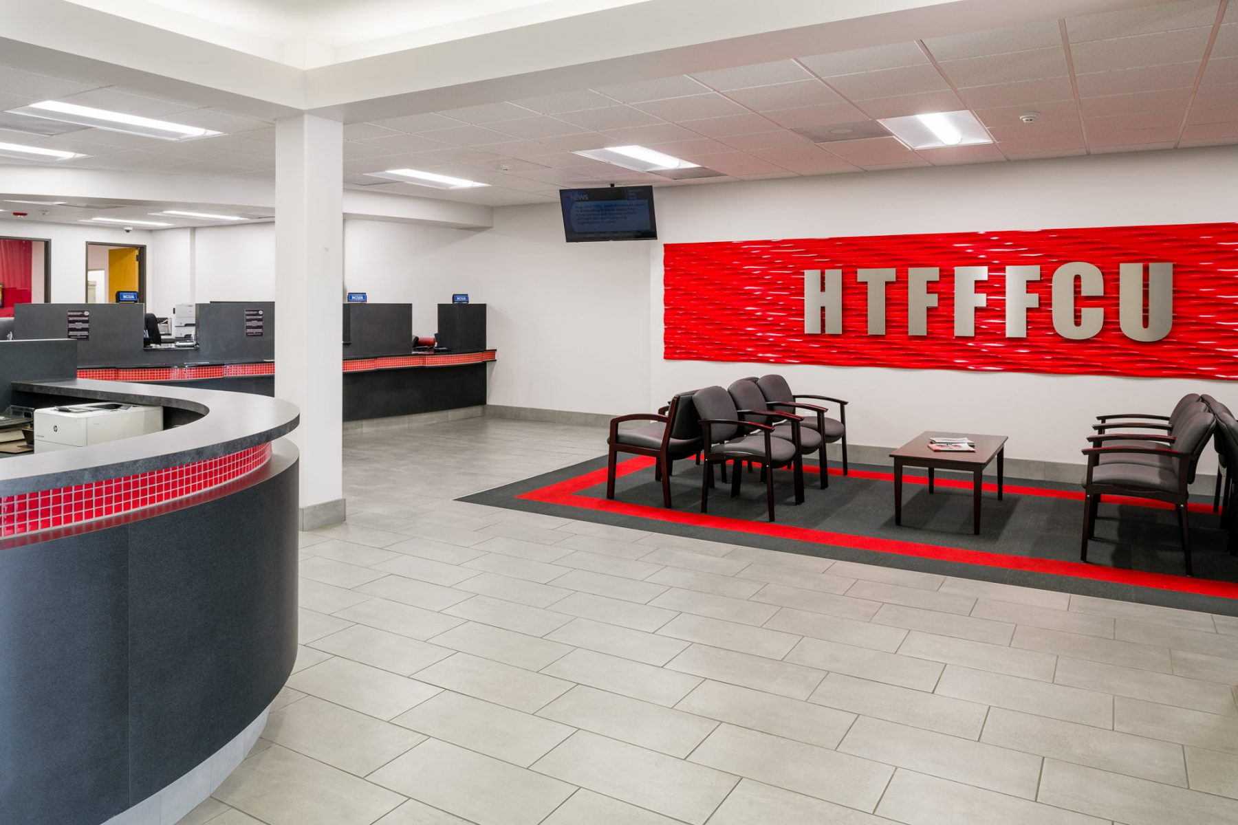 Houston Texas Fire Fighters Federal Credit Union Haltner Design Build