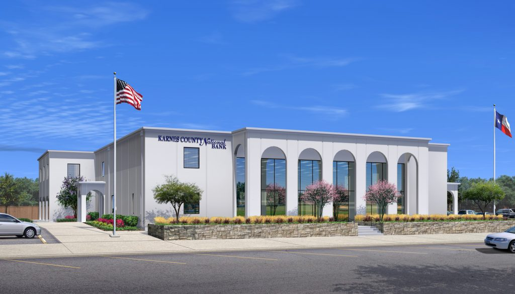 Design Build Projects: Karnes County National Bank