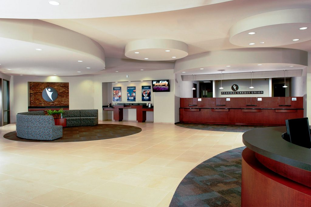 Cherokee County Federal Credit Union - Seating & Teller Line Station